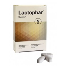 LACTOPHAR : Improves balance of the intestinal flora, improves the barrier effect, very useful to protect the flora of patients