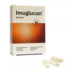 IMUGLUCAN : beta-1,3 glucans modulate  macrophages, bacteria and viruses activity
