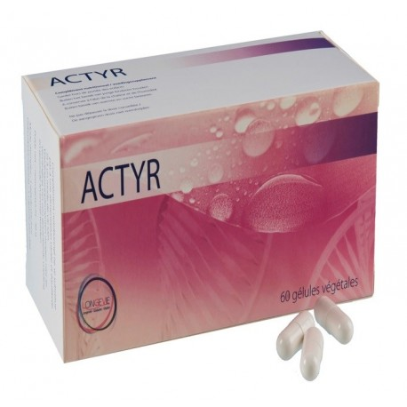 ACTYR : Tyrosine and iodine, improves thyroid function