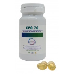 EPA 70 : EPA has anti-inflammatory  properties and acts on fluidity of cell membranes